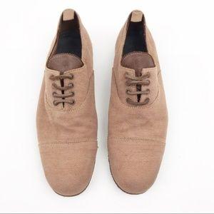 Pantofola D'Oro Oxford Lace Up Flat Men's Shoes